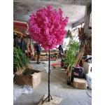 Изкуствено дръвче с розов цвят